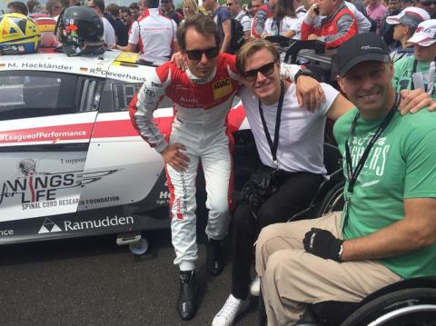 Micke Ohlsson Thomas Fogdö Aron Andersson Audi R8 LMS