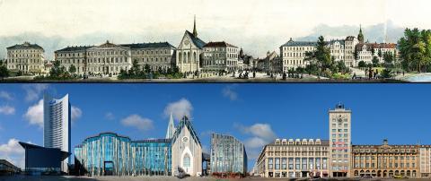 Leipziger Ring - damals und heute