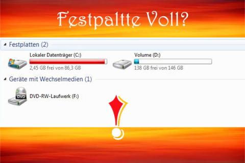 Festplatte Voll Windows 10