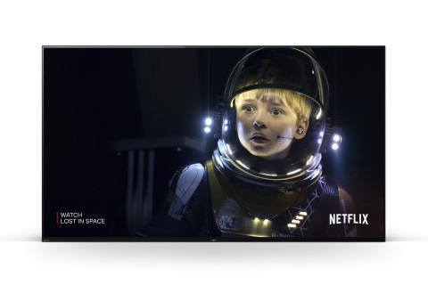 I televisori Sony BRAVIA della Serie MASTER e l'esclusivo Netflix Calibrated Mode: la qualità d'immagine degli studi di produzione cinematografica approda nel salotto di casa