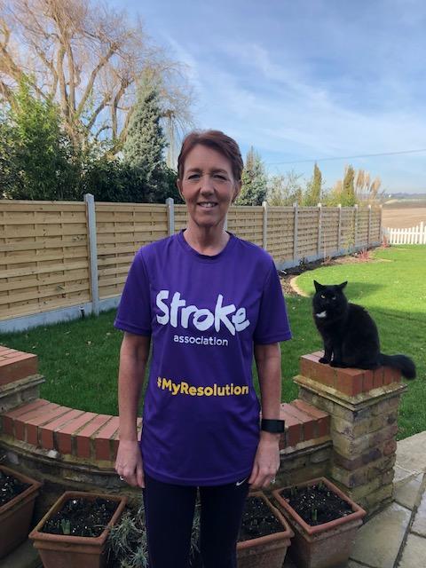 Local runner's Resolution Run for Stroke Association