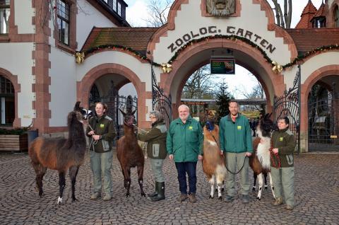 Der Zoo Leipzig startet ins Jubiläumsjahr 2018