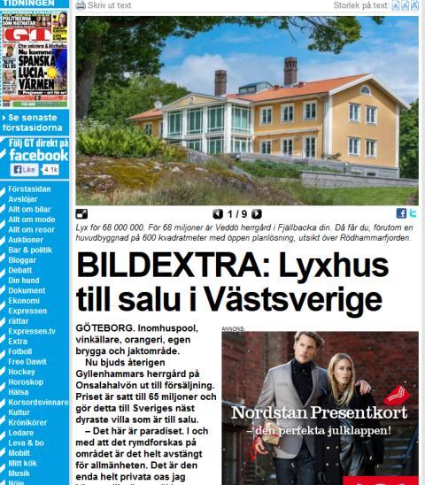 BILDEXTRA: Lyxhus till salu i Västsverige