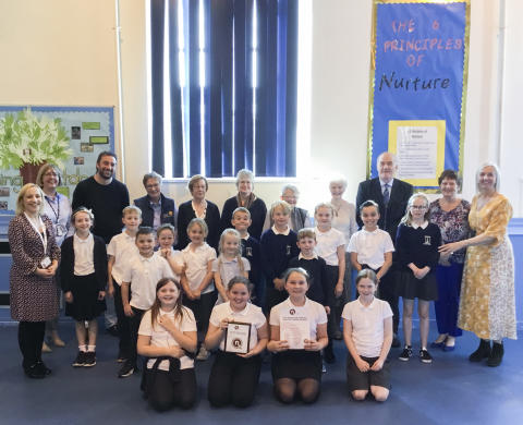Anderson's Primary awarded National Nurturing Schools status