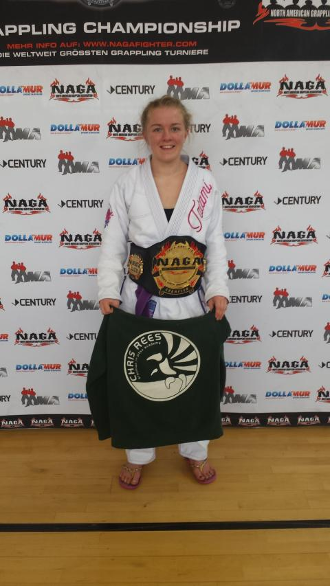 UKBJJA Sponsored Athlete Ashley Bendle