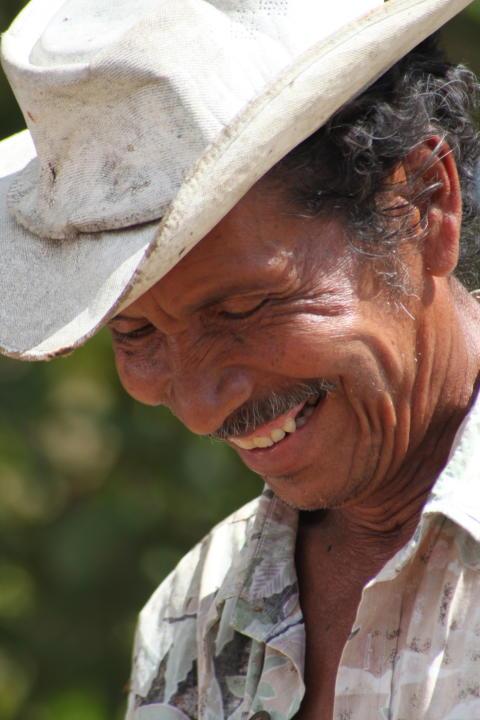 Bonde i Plan Vivo-projektet i Nicaragua