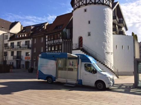 Beratungsmobil der Unabhängigen Patientenberatung kommt am 21. Juni nach Albstadt.