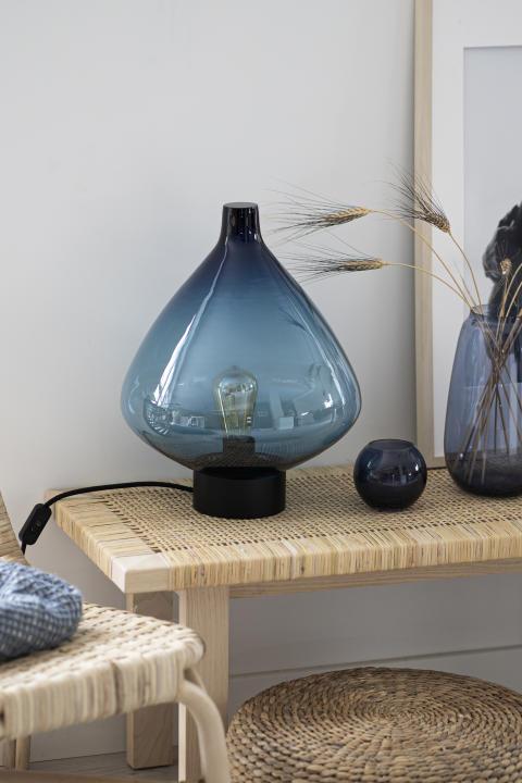 Bordlampe 4218 Stålblå
