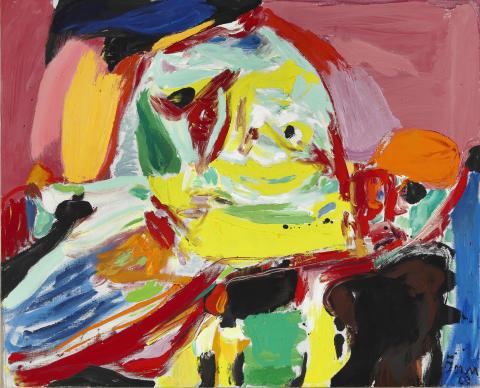 """Asger Jorn: """"Quand la lumière se fait"""" (1969)"""