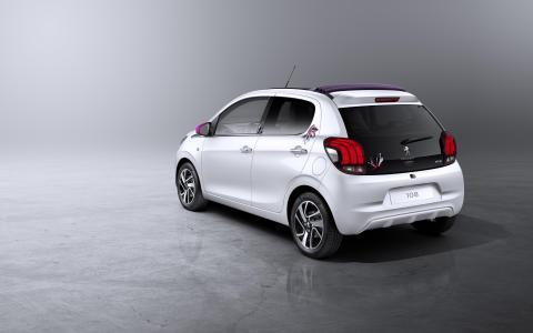 Nya Peugeot 108 TOP! bak