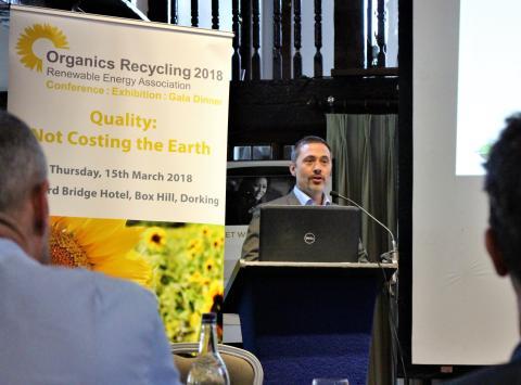 Uniks konsult gjorde succé på internationella konferensen REA i England