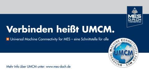 Flyer UMCM-Schnittstelle des MES D.A.CH Verband e.V.