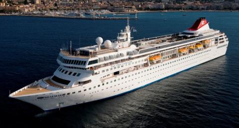 Fred. Olsen Cruise Lines' Braemar commences inaugural cruise season from Harwich