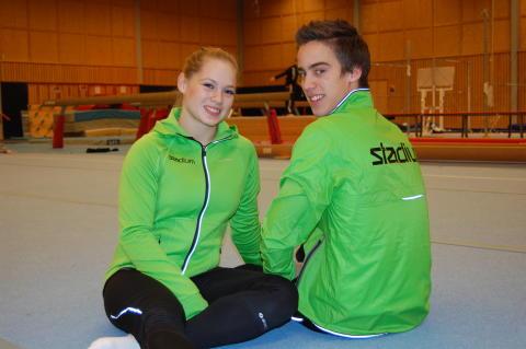 Veronica Wagner och Måns Stenberg