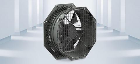 Axialfläktar med diffusor ger energieffektiva och tysta värmepumpar