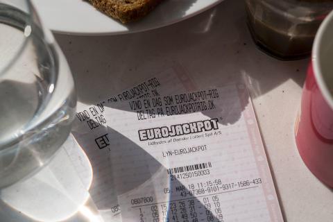 Eurojackpot kupon