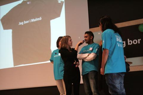 Ungas inflytande i fokus på Jag bor i Malmö-kongress