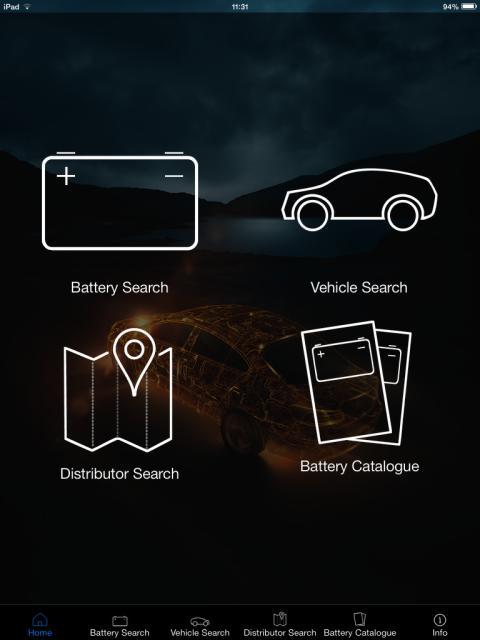 VARTA battery App