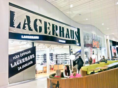 Premiär för Lagerhaus i Grand Samarkand köpcentrum, Växjö