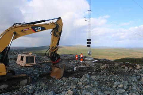 Utbygging av vindpark på Hitra