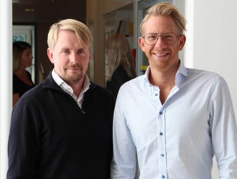Andreas Ödman och Erik Douglasson