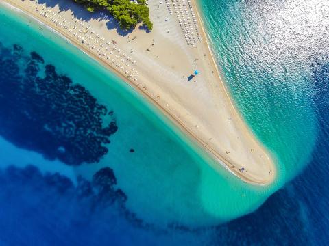 Reiseguidens Topp 5: Strender i Kroatia
