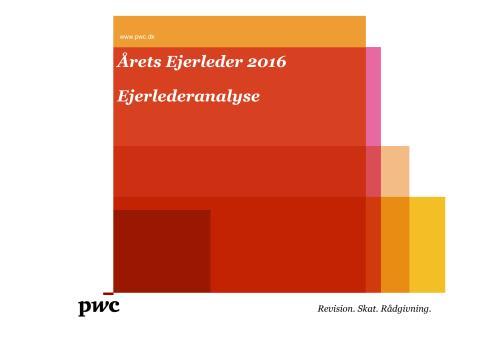 Årets Ejerlederanalyse 2016