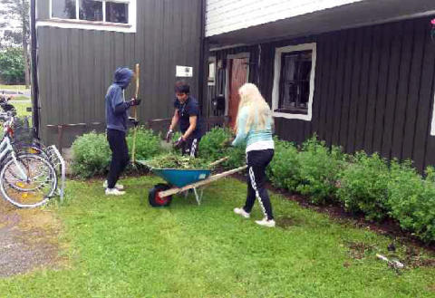 Första sommarjobbsmässan för Sandvikenhus