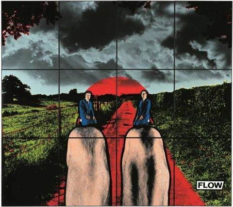 Gilbert & George, FLOW, 1988