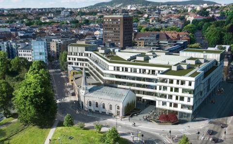 Månedens bygg oktober 2016: Sundtkvartalet - høye miljøambisjoner fra Entra og Skanska