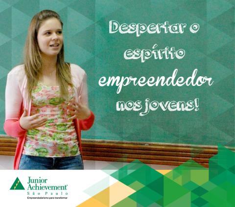 Despertar o espírito empreendedor nos jovens... faz parte da nossa missão!