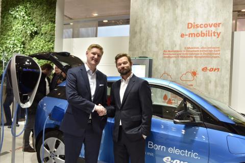 E.ON koncernen og danske CLEVER samarbejder om europæisk ultraladernetværk til elbiler