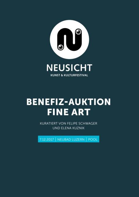 NEUSICHT Auktionskatalog 2017 - ART CREATES WATER im Luzerner Hallenbad