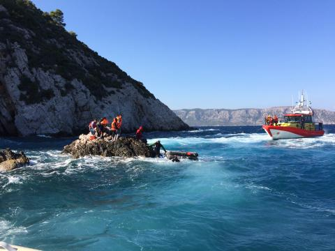 Eight weeks with The Yellow Boats  - 515 rescued
