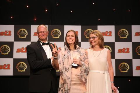 """Solveig Anita Østmo er """"Årets Ansatt"""" hos Shell"""