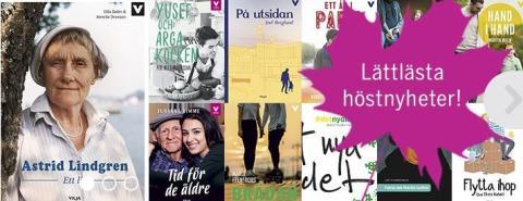 Tips! Här hittar du lättlästa böcker för unga vuxna och vuxna