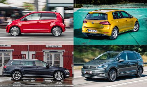 Volkswagen topper bilsalget i 2017