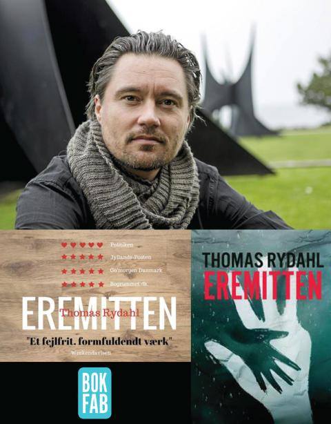 Bokfabriken ger ut Glasnyckeln-vinnaren Thomas Rydahl