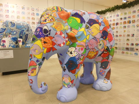 Record public involvement as Elephant Parade visits Norwich