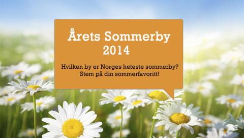 Årets Sommerby 2014 er i gang på Reiseguiden.no – hvilken by blir Norges beste sommerby i 2014?