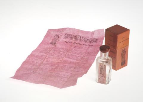 Röd electricitet. Från Region Skånes medicinhistoriska samlingar, som förvaltas av Kulturen