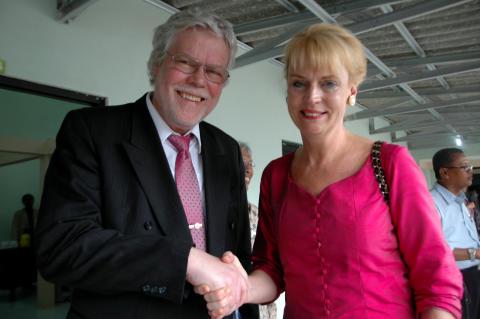 Olle Engström och Ewa Polano