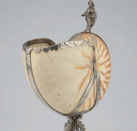 Nautilus beaker ca 1836
