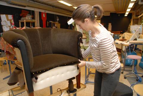 Rekordmånga gesällbrev vid Träakademien i Kramfors
