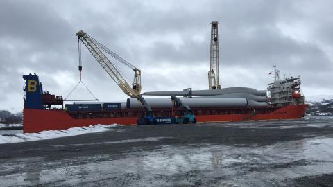 Informasjonsmøte om transporter av turbiner til Roan vindpark