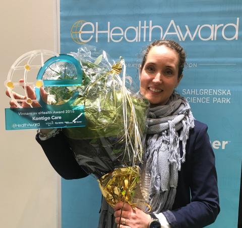 Kontigo Care vinner eHealth Award