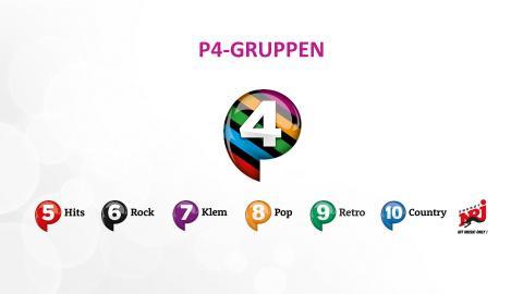 P4-gruppens kanaler