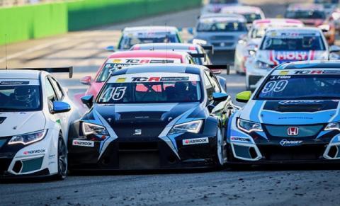 ADAC TCR Germany start race 2
