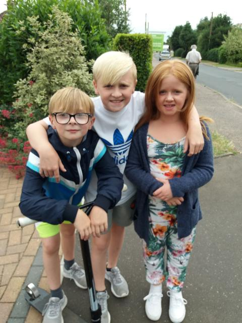 12-year-old schoolboy takes on fundraising walk for the Stroke Association