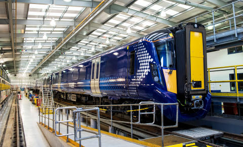 Hitachi built ScotRail Class 385